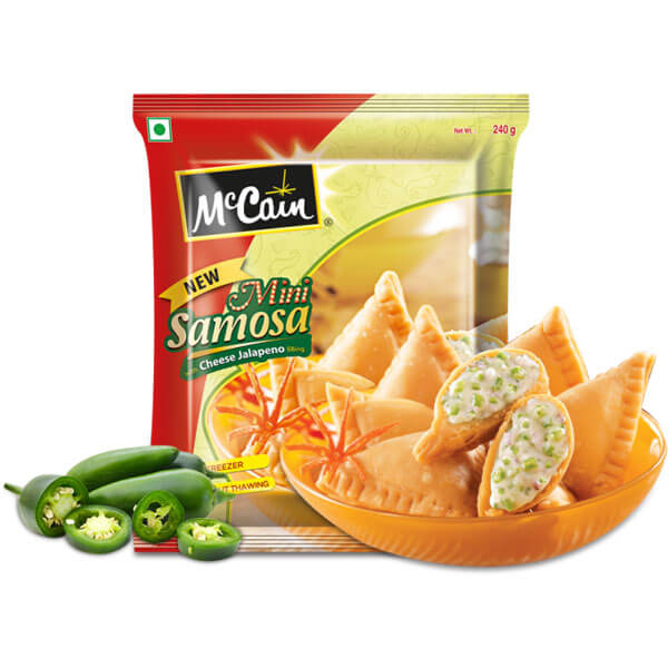 Buy McCain Cheese Corn Samosa 240 Gm Online