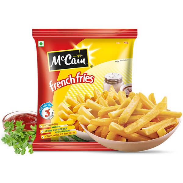Buy McCain Masala French Fries 375gm Online