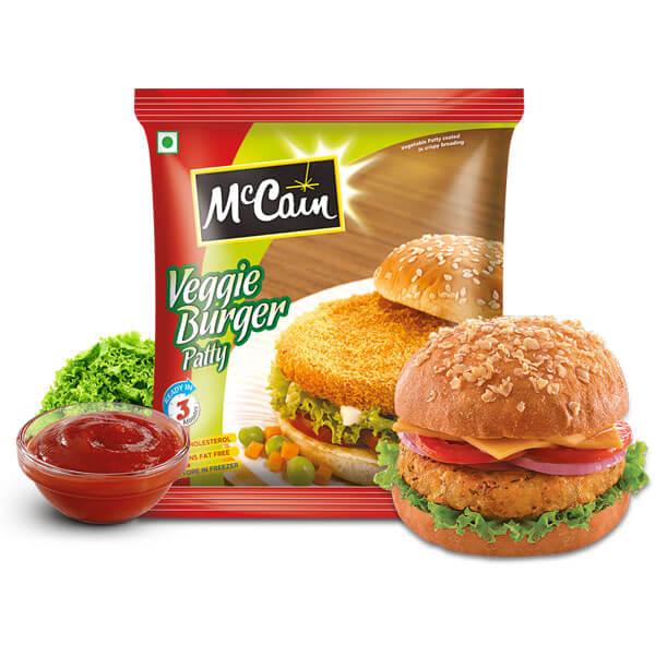 McCain Veggie Burger Petty 360gm