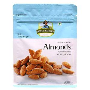 Jewel Farmer Almonds Salted 250gm
