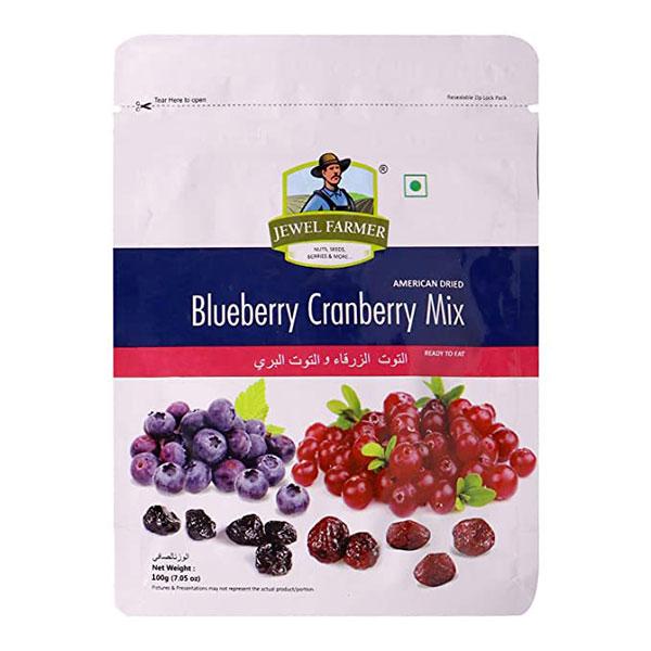 Jewel Farmer Blueberry Cranb Mix Pouch 100gm