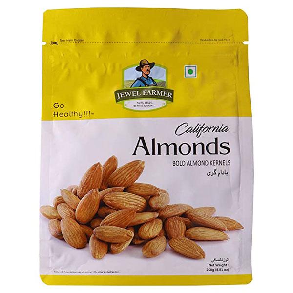 Jewel Farmer California Almond 250gm