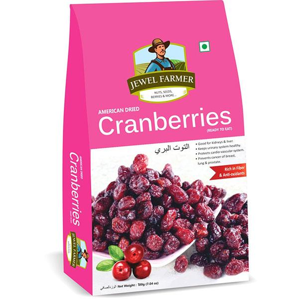 Jewel Farmer Cranberries 100gm