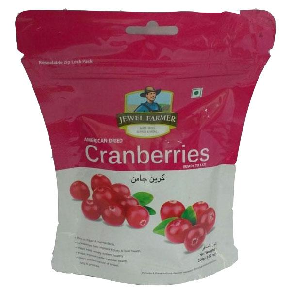 Jewel Farmer Cranberries 250gm