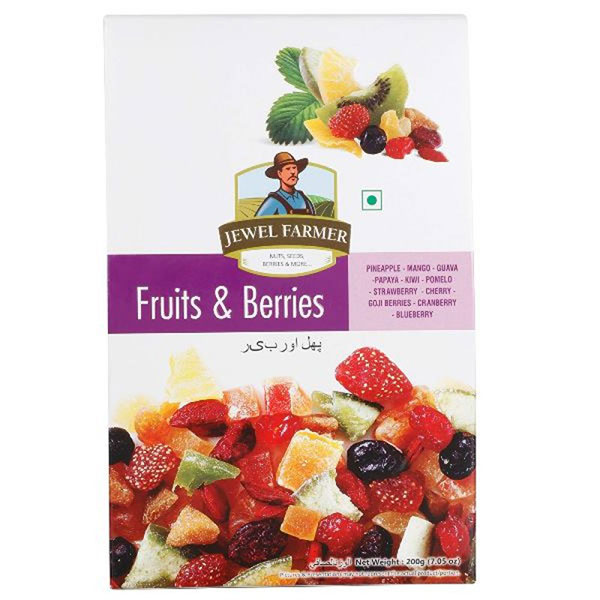 Jewel Farmer Fruit & Berries 200gm