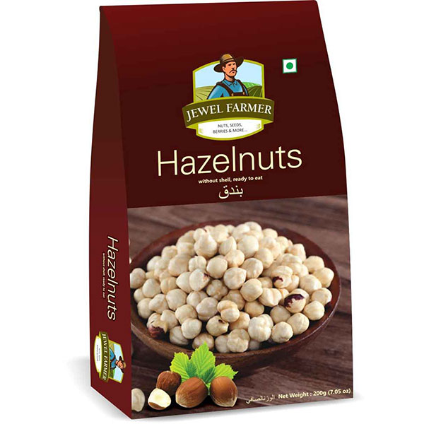Jewel Farmer Hazelnuts 200gm