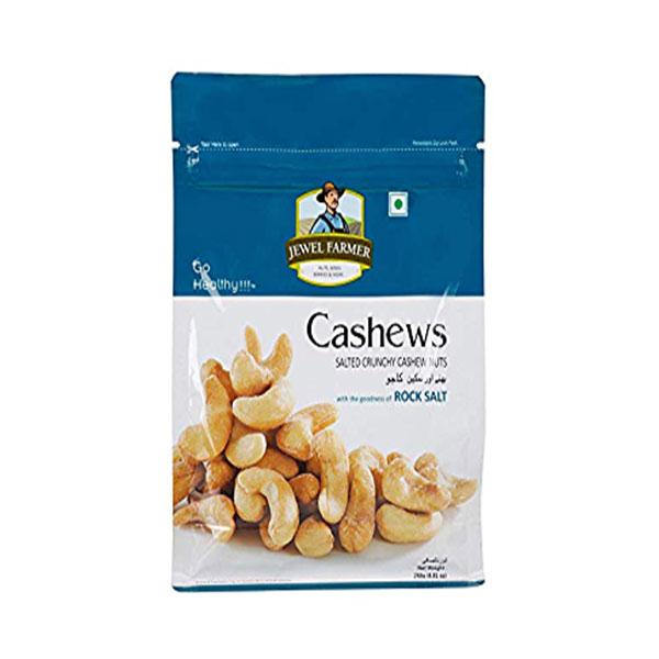 Jewel Farmer Salted Cashews 250gm