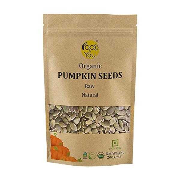 Organic Pumpkin Seeds 200gm