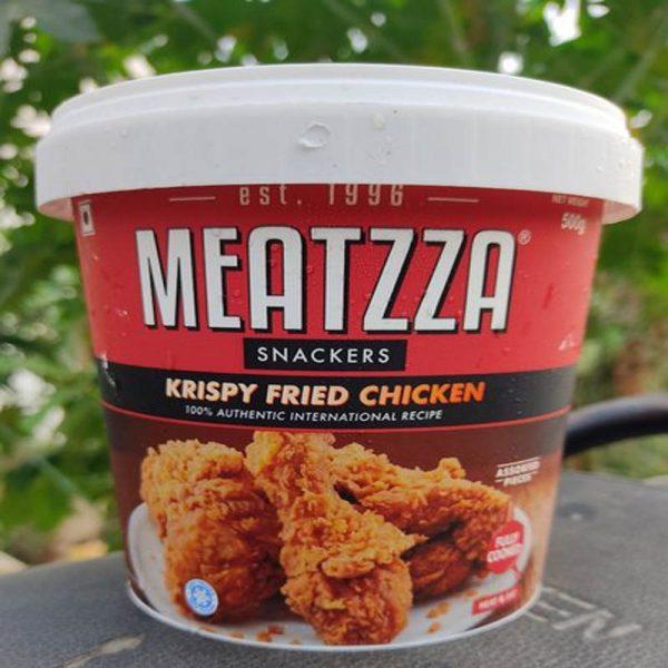 Buy Meatzza Krispy Fried Chicken 500 gm Online