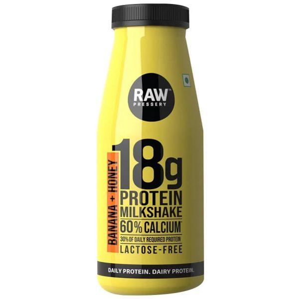 Raw Protein Milkshake Banana Honey 200ml Online