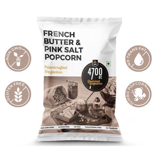4700BC French Butter & Pink Salt Popcorn