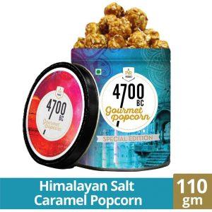 4700BC Himalayan Salt Caramel Popcorn Tin 110gm
