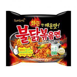 Samyang Hot Chicken Ramen Noodles Spicy 140gm
