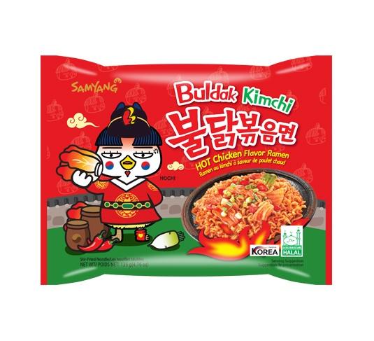 Samyang Hot Chicken Ramen Noodles Kimchi 135gm