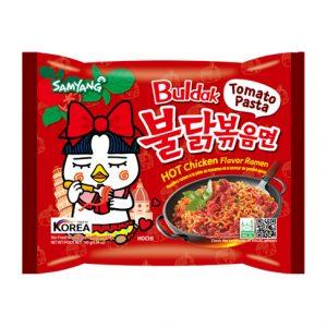 Samyang Hot Chicken Ramen Noodles Tomato Pasta 140gm