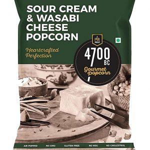 4700BC Sour Cream Wasabi Cheese Popcorn 75gm