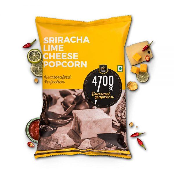4700BC Sriracha Lime Cheese Popcorn 75gm