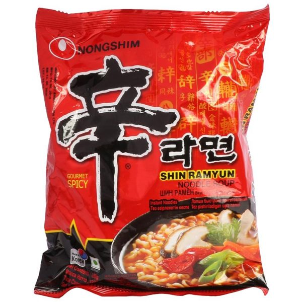 Nongshim Shin Ramyun Noodles Soup 120gm