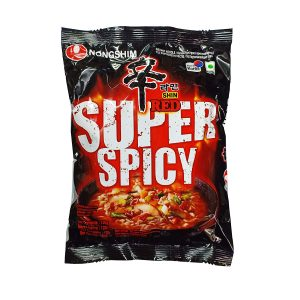 Nongshim Shin Red Super Spicy Noodles 120gm