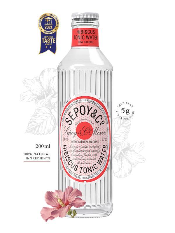 Buy Sepoy Hibiscus Tonic Water 200ml Online in Vadodara at Best Prices - Maplesfood.com