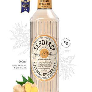 Buy Sepoy Original Ginger Ale 200ml Online in Vadodara at Best Prices - Maplesfood.com