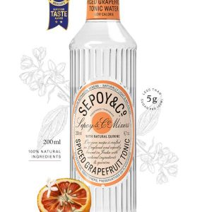 Buy Sepoy Spiced Grapefruit Tonic 200ml Online in Vadodara at Best Prices - Maplesfood.com