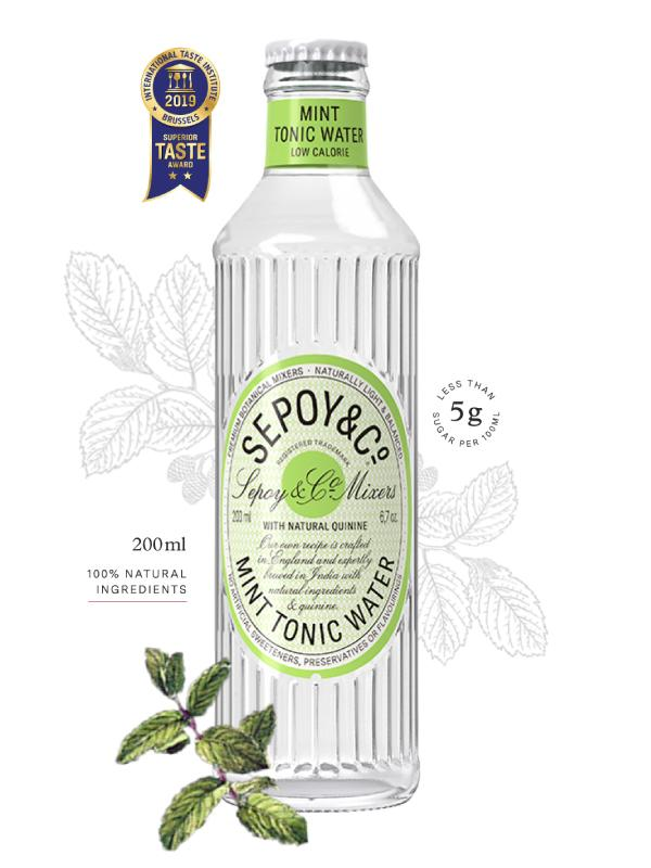 Buy Sepoy Mint Tonic Water 200ml Online in Vadodara at Best Prices - Maplesfood.com